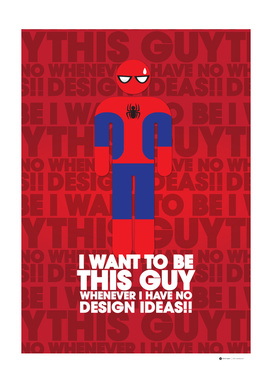 I Want to Be Spider Man Whenever I have no design idea