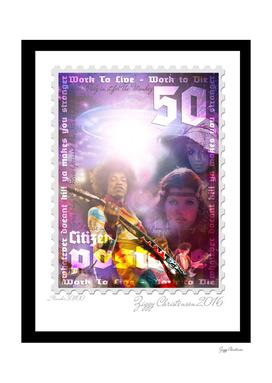 Hendrix abduction stamp