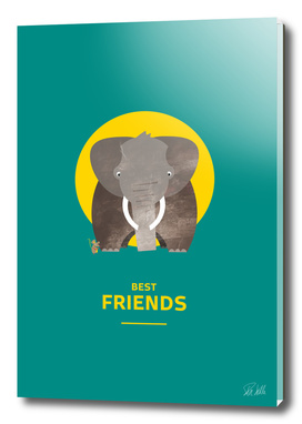 Best Friends – Elephant and Mouse