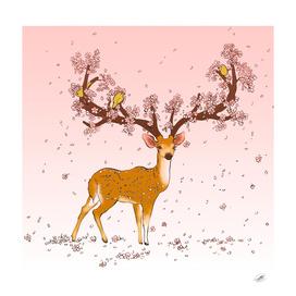 Cerf cerisiers *