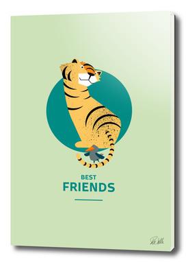 Best Friends – Tiger and Bird