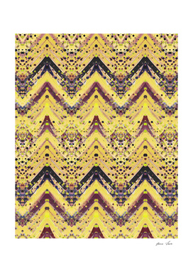 Yellow painted pattern