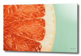 Blood Orange Fruit Slice