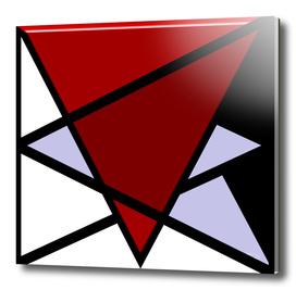 Four Triangles - Broken Lilac