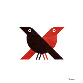 red doves