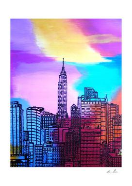View on New York detail.DSC00176