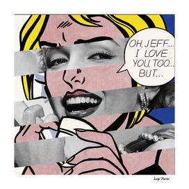 Roy Lichtenstein & Marylin Monroe