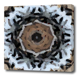 Tiger's Eye Embossed Abstract