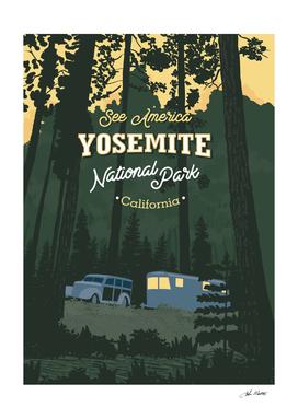 See America – Yosemite National Park Camping
