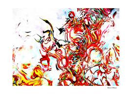Frenzied Flight of Hummingbirds