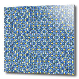 Yellow, white and blue stars 7239