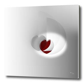 2 Hearts 1 Color