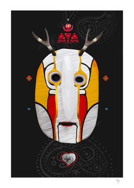Deer man mask