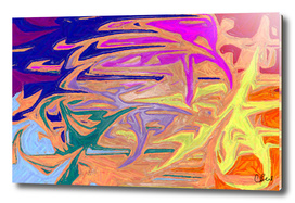 Abstractly Rainbow
