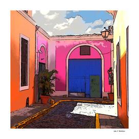 Old San Juan Ally, Puerto Rico