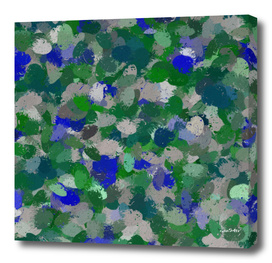 Blue and Green Paint Balls 9762