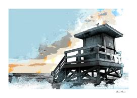 Beach Shack Lifeguard Station