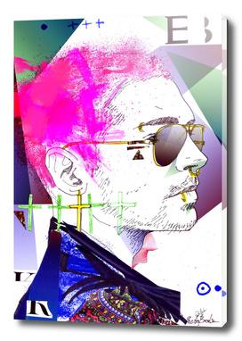 Bill Kaulitz portrait