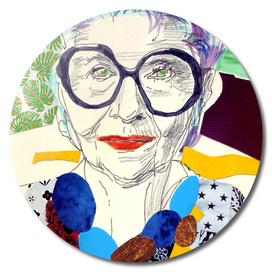 Iris Apfel fan art