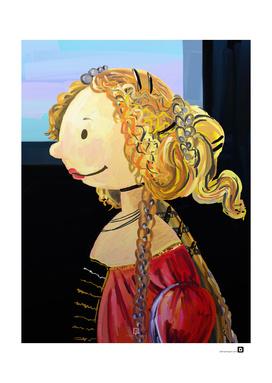 The Small Simonetta Vespucci