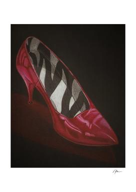 neovibe.us Zebra Red Shoe