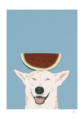 Watermelon Doggy Smile