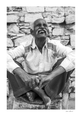 old man from pushkar,india