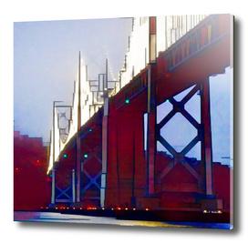 Cubism Bay Bridge, San Francisco