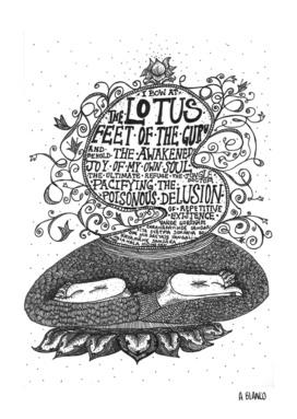 Lotus Feet of Guru