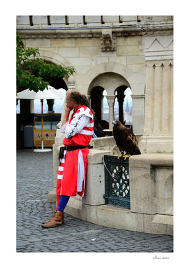 The man and the eagle