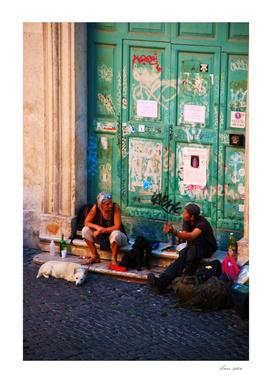 Friends in Trastevere