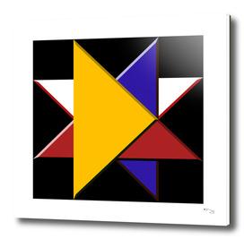 Four Triangles - Star