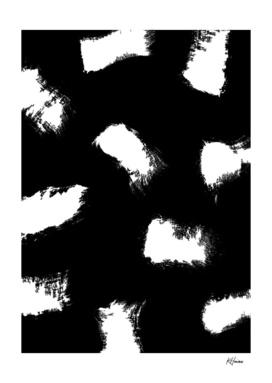 Monochrome Brush Strokes