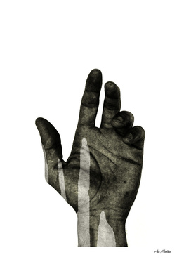 HAND BLACK