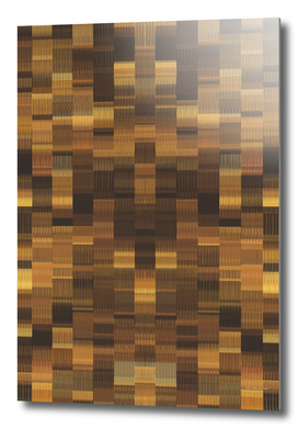 vintage geometric abstract pattern in brown and black