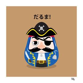 Pirate Daruma