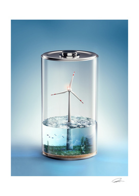 Economic Battery - Wind Energy
