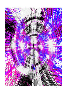 pink blue purple and black circle plaid pattern