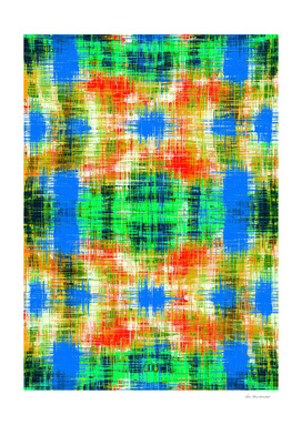 yellow blue green and red plaid pattern