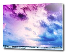 Cloudy shores