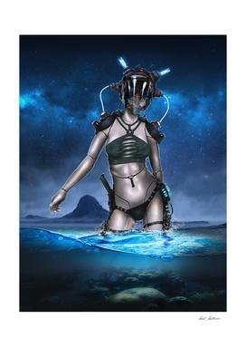 Cyborg Bikini