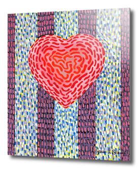 POSITIVE ENERGY SQUIGGLE HEART