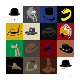 16 hats