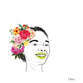 #2 Flower child series