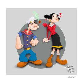 Tribute- Popeye and Olivia