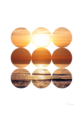 Sunset In Circles