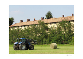 tractor at work - agriculture
