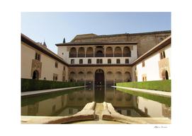 Royal house - Granada in Spain