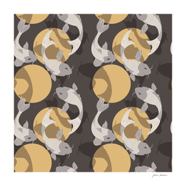 Koi fish pattern 003
