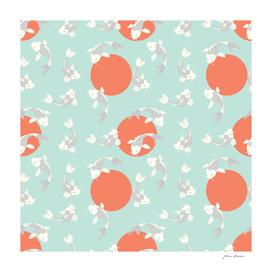 Koi fish pattern 005